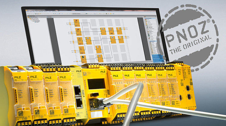 From the latest generation of safety relays PNOZmulti