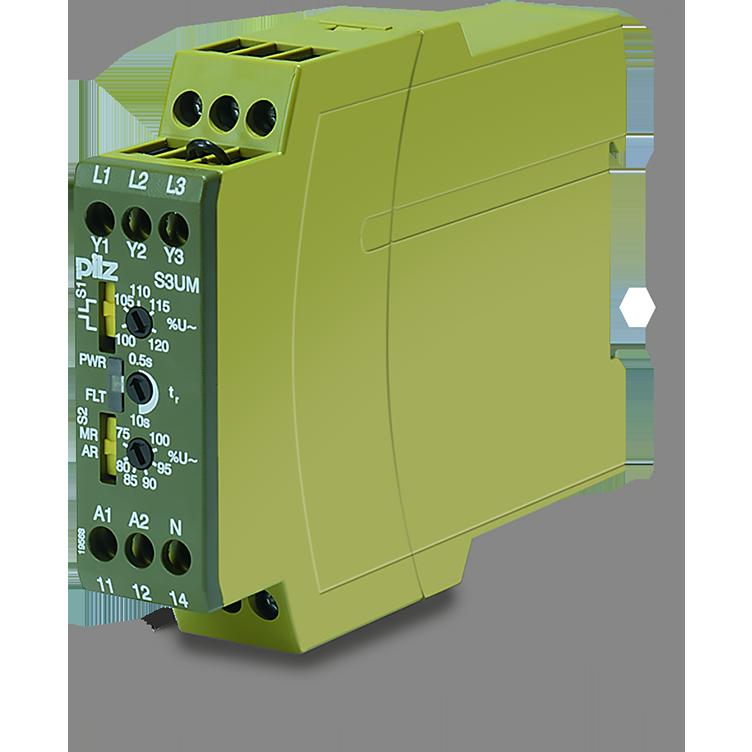 Electronic monitoring relays PMDsrange Pilz INT