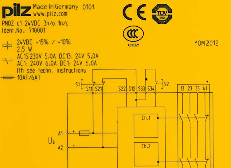 pilz safety relay wiring diagram schematic wiring diagrams Painless Wiring Neutral Safety Switch safety relay pnoz pact pilz nz pilz safety relay wiring diagram pilz safety relay wiring diagram