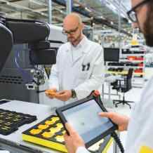 """We are driving change"": Safe robotics is one of the future markets for the automation company Pilz"