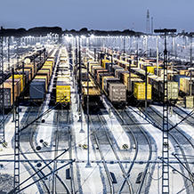Ready for Rail 4.0: At Rail Live, automation company Pilz will be presenting its comprehensive range of solutions for digitalisation on trains and railway lines. (Photo: Pilz GmbH & Co. KG / © iStock.com/querbeet)