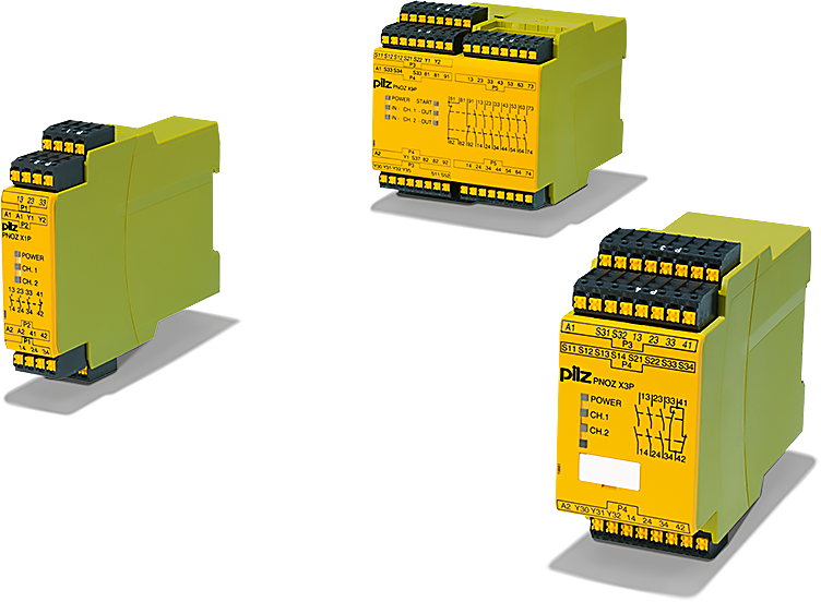 Safety relays PNOZ X at a glance
