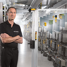 Modular safety gate system from Pilz