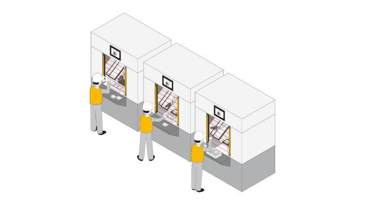 Uso de barreras fotoeléctricas de seguridad PSENopt II