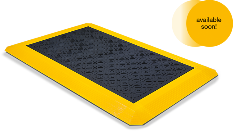 Tactile sensors in the form of a pressure-sensitive safety mat