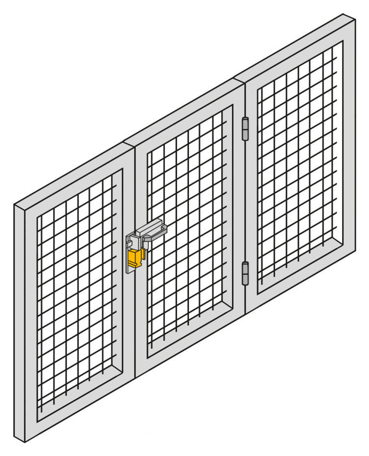 Secure safety gate monitoring with the safety bolt PSENbolt