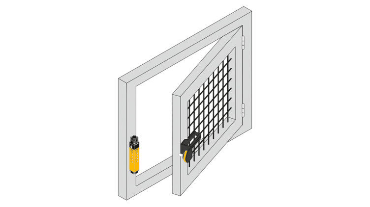 Handles for the secure safety gate system PSENmlock