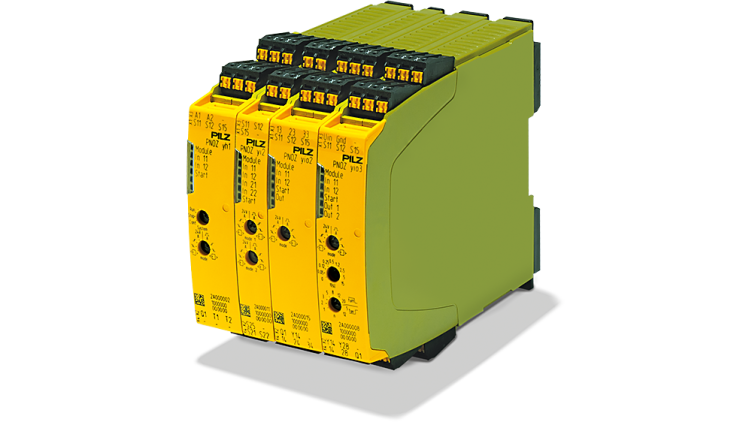 Modular safety relay myPNOZ