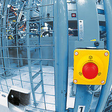 E-STOP pushbutton for application in any industry sector