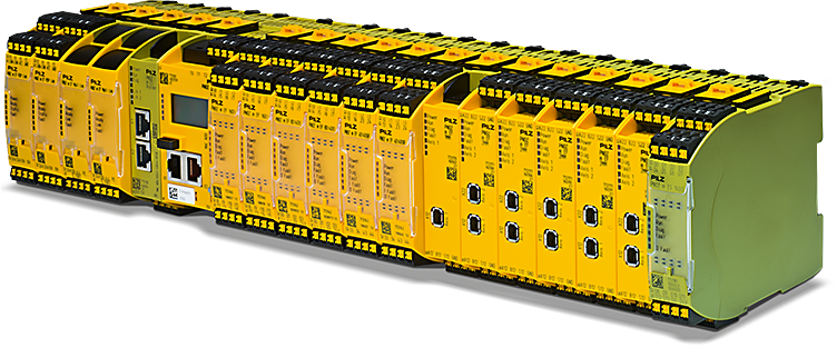 New: Base unit PNOZ m B1 with 12 expansion modules