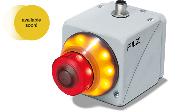 PITestop active is an illuminated E-STOP