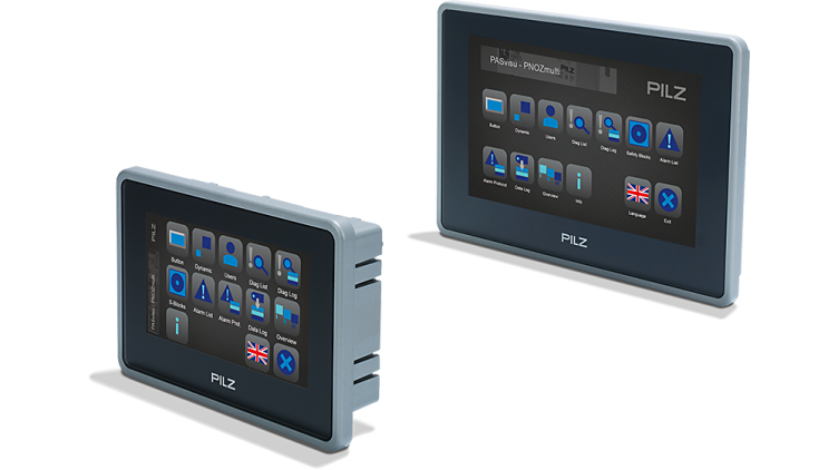 Diagnostics and visualisation panels PMIvisu v7e