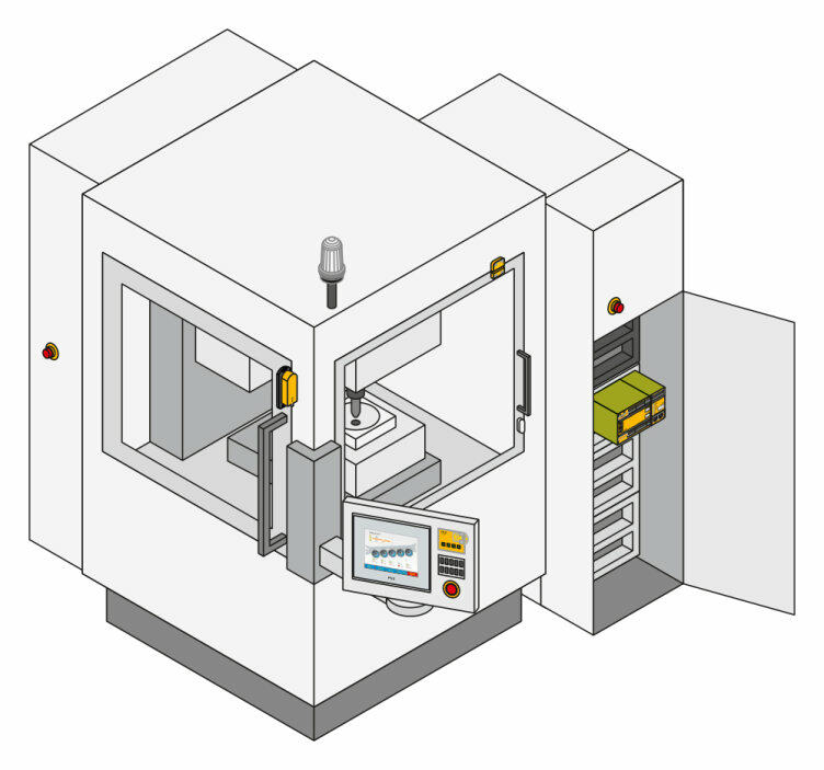 PMIopen for visualising processes and HMI - Pilz INT
