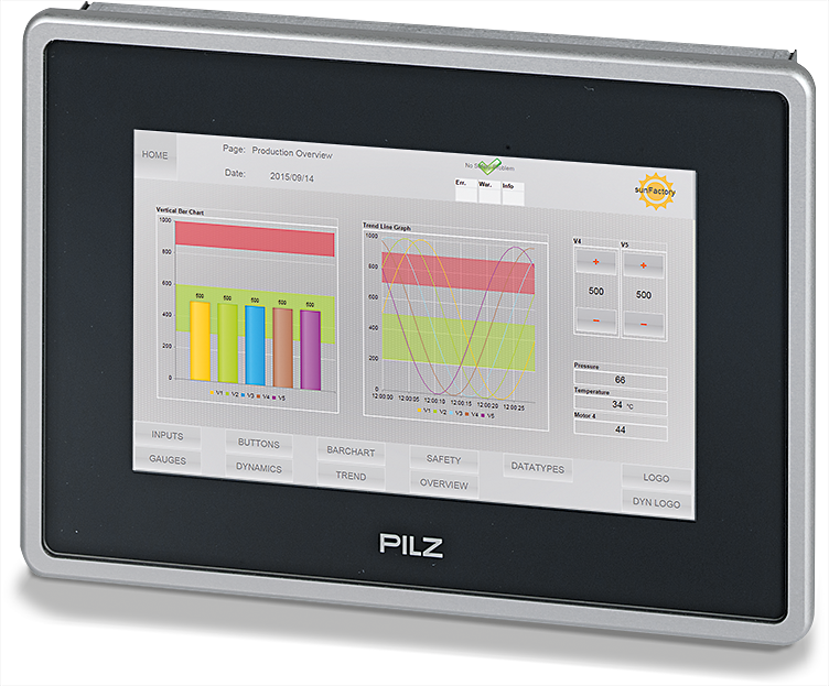 PMI with pre-installed visualisation software PASvisu