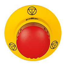 E-STOP pushbutton PITestop