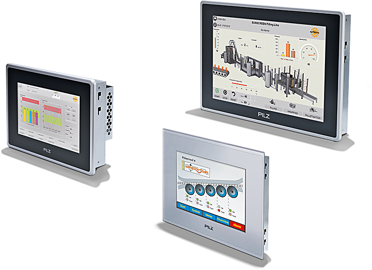 Operator devices/operator terminals PMI – HMI with PMI