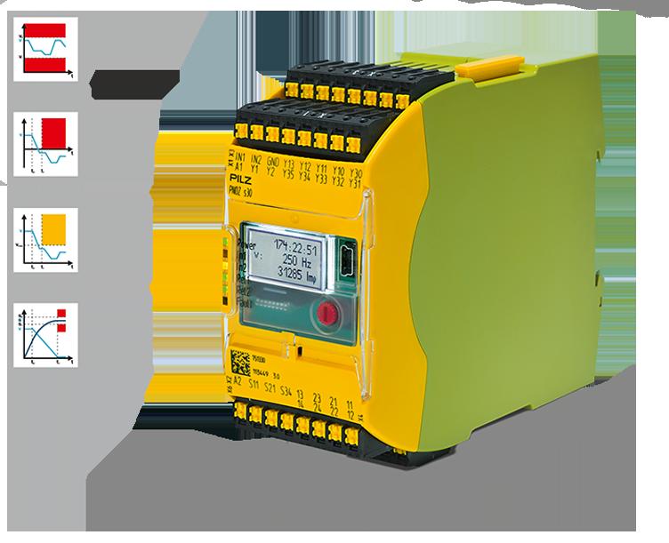 Monitor de velocidad PNOZ s30