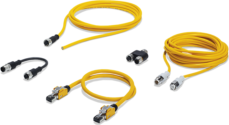 Cables and plug-in connectors