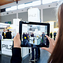 "At the trade fairs ""all about automation"" in Hamburg and Friedrichshafen, Pilz will present solutions for safe area monitoring and Industrie 4.0."