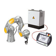 With the Pilz Service Robotics modules, Pilz offers a set for service robot applications in an industrial environment.