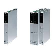 With its new drive controllers PMC SC6 and PMC SI6 Pilz offers space-saving, scalable systems for either single or multi-axis applications. (Photo: Pilz GmbH & Co. KG)