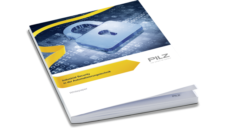 "The ""Security"" white paper from Pilz helps to understand central aspects of security and to put solution approaches into practice."