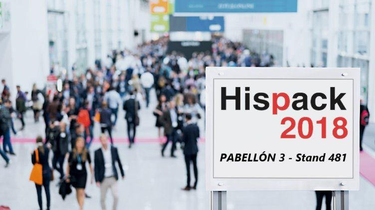 Hispack 2018 Pabellón 3 - Stand 481