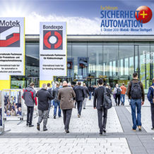 "On 8 October 2018, the ""Safety + Automation"" Specialist Forum will be taking place as part of the Motek exhibition in Stuttgart. In eight individual presentations, renowned experts will give talks on the hot topics of safe automation. - Photo: ""Safety + Automation"" Specialist Forum"