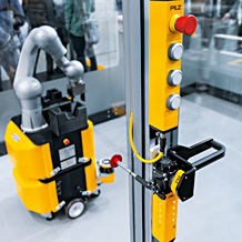 At this year's SPS, everything at Pilz revolves around safe access control to plant and machinery – physically and virtually. Photo: Pilz GmbH & Co. KG