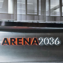 Logotipo do ARENA2036