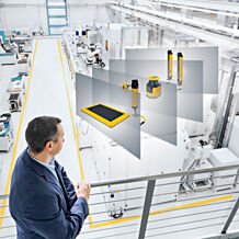 Sensor technology in the smart factory
