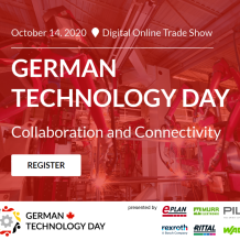 German Technology Day, Oct 14 2020