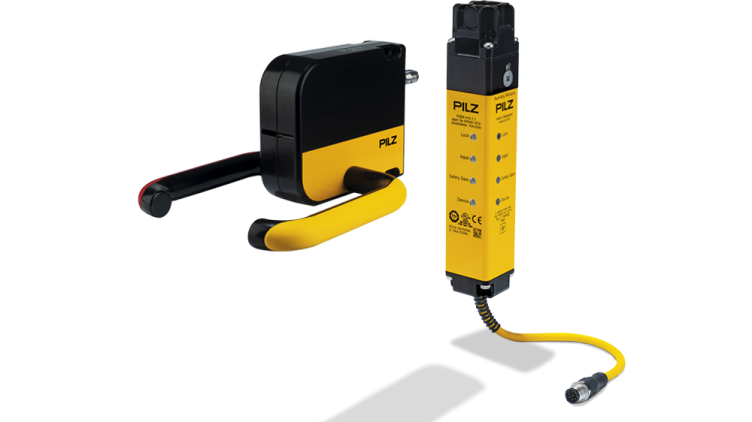 Safety gate system PSENmlock: safe interlocking and safe guard locking in a single product