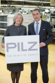 From April 2015 Pilz will have a new logo. The new logo puts automation firmly back in the spotlight alongside safety as the core competency.