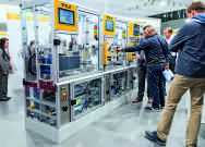At SPS IPC Drives 2016 Pilz will be exhibiting automation solutions for the smart factory. The modular production line illustrates how distributed automation systems communicate with sensor and actuator technology.