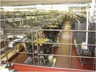 Pilz PSS 4000 monitors potato chip packaging line