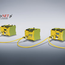 The configurable small controllers PNOZmulti 2 now have the expansion module PNOZ m EF SafetyNET for the safe communication of data via SafetyNET p.