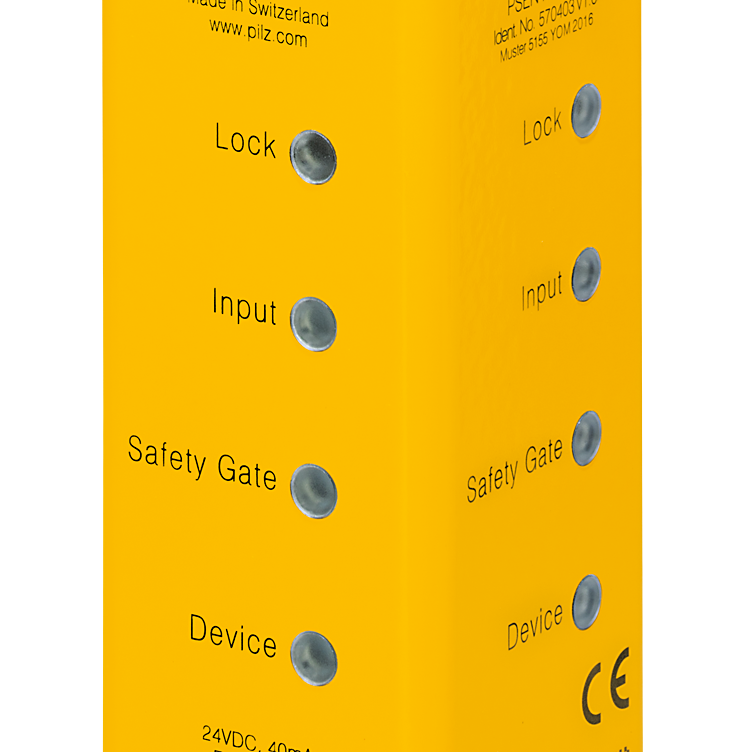 Features of the secure safety gate system PSENmlock