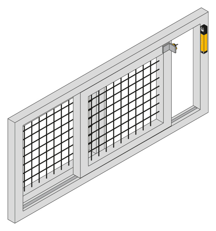 Robust design and high holding force for heavy doors