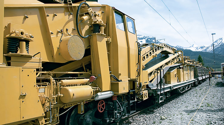 Control system for railway technology and challenging climates