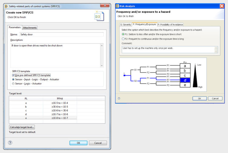 Create safety functions in accordance with EN ISO 13849-1