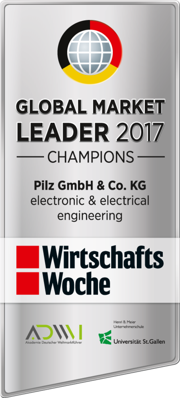 Pilz is world market leader 2017