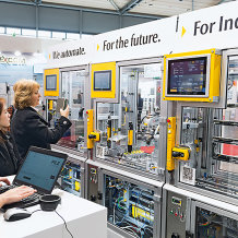 With its smart factory model, at SPS IPC Drives 2017 Pilz will be exhibiting not only product innovations but also Industrie 4.0 you can touch.