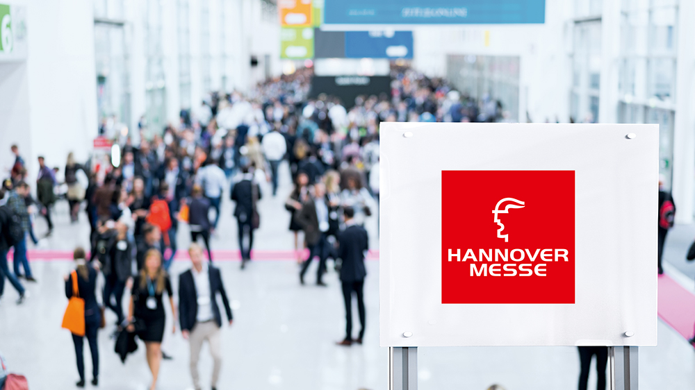 Pilz at the Hannover Messe Industrie in Hall 9, Stand D17