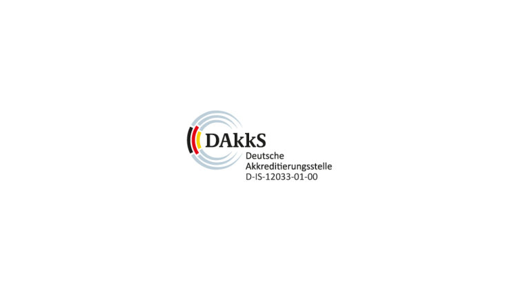 DAkkS accredited to ISO/IEC 17020:2012