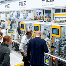 "Under the motto ""We automate. Safely."" in 2019 Pilz will again be presenting innovative automation solutions for all industries at the Hannover Messe."