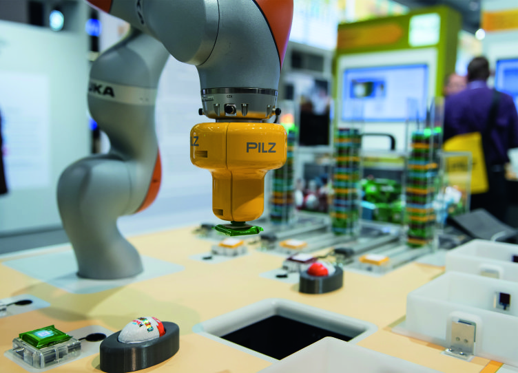 "Under the motto ""We automate. Safely."" Pilz will be presenting industry solutions, product innovations and services for complete automation solutions at the Hannover Messe from 24 to 28 April 2017"