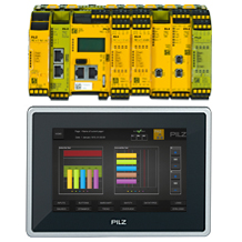 New: Connection of the small controllers PNOZmulti to the visualisation software PASvisu