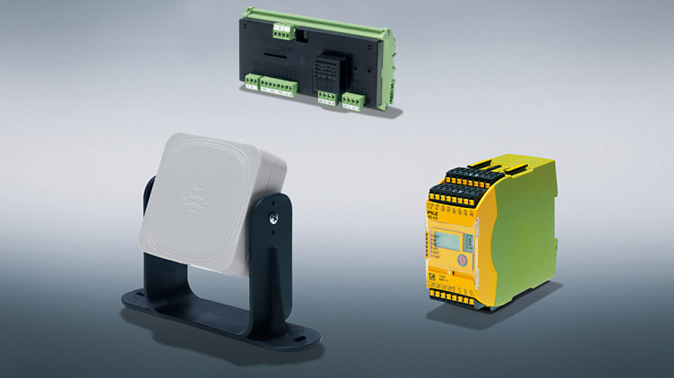 The world's first safe radar system solution expands the safe sensor technology range PSEN from Pilz.