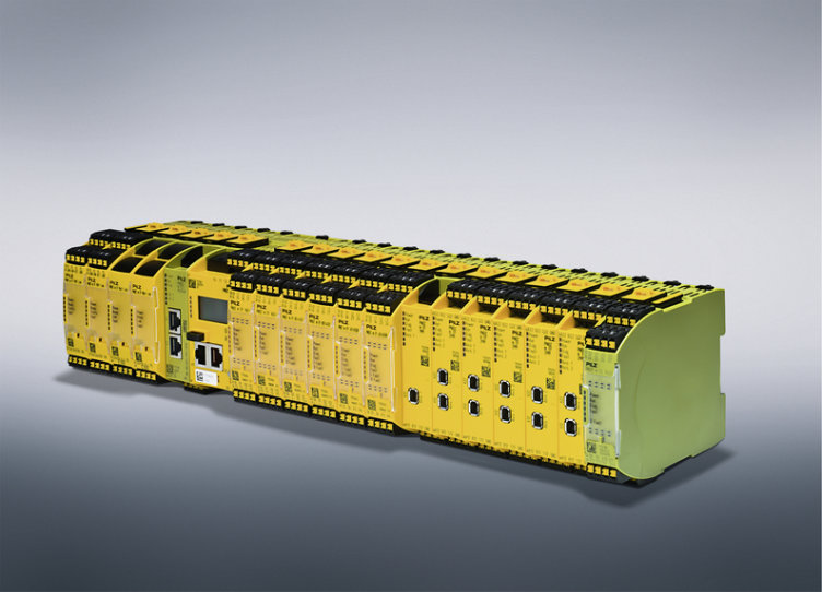 Maximum design of the configurable control system PNOZmulti 2: – up to 12 safe expansion modules and a new standard output module are now available for automation.